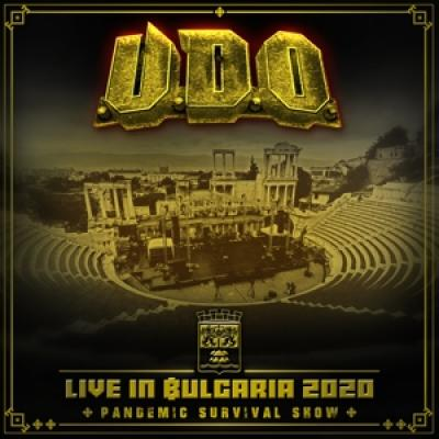 U.D.O. - Live In Bulgaria 2020 (2Cd+Blry) (3CD)