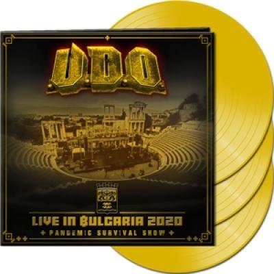 U.D.O. - Live In Bulgaria 2020 (Clear Yellow Vinyl) (3LP)