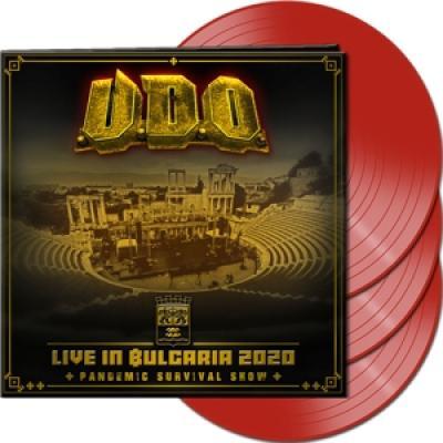 U.D.O. - Live In Bulgaria 2020 (Red Vinyl) (3LP)