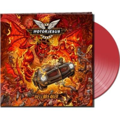 Motorjesus - Hellbreaker (Clear Red Vinyl) (LP)