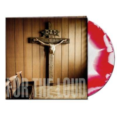 D-A-D - A Prayer For The Loud (White/Red Merge Vinyl) (LP)