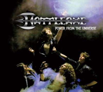 Battleaxe - Power From The Universe (Blue With Black Swirls Vinyl) (LP)