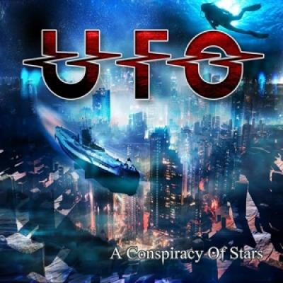 Ufo - A Conspiracy Of Stars (Red With Black Swirls Vinyls) (LP)