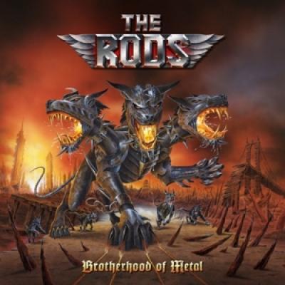 Rods - Brotherhood Of Metal (Red Vinyl) (LP)
