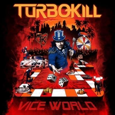 Turbokill - Vice World (Red With Black Swirls Vinyl) (2LP)