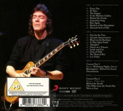 Hackett, Steve - Wuthering Nights (In Birmingham) (2CD+DVD)