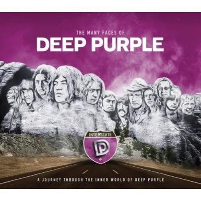 Deep Purple - V/A - Many Faces of Deep Purple (2LP)(Coloured)