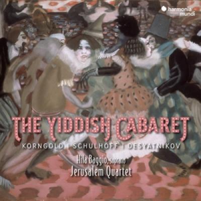 Jerusalem Quartet Hila Baggio - The Yiddish Cabaret CD