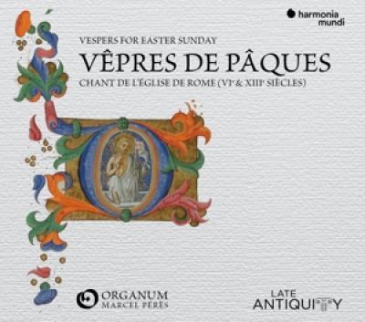 Ensemble Organum Marcel Peres - Chant De Leglise De Rome  Vepres Du