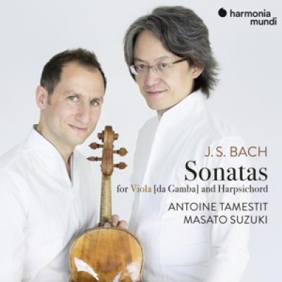 Antoine Tamestit Masato Suzuki - Bach J.S. 3 Sonatas For Viola Da Ga