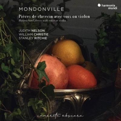 William Christie Judith Nelson Stan - Mondonville  Pieces De Clavecin Ave CD