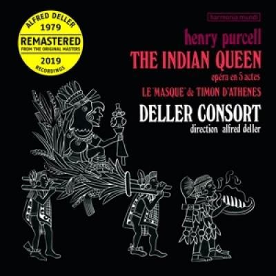 Alfred Deller The Kings Musick The - Purcell The Indian Queen (2LP)