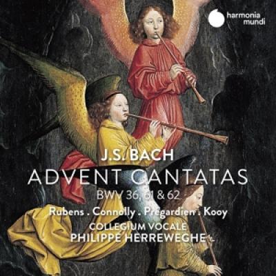 Sibylla Rubens Sarah Connolly Chris - J.S. Bach Advent Cantatas