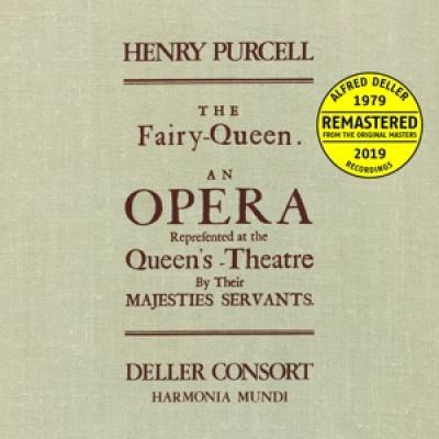 Alfred Deller Deller Consort Penelo - Purcell The Fairy Queen (3LP)