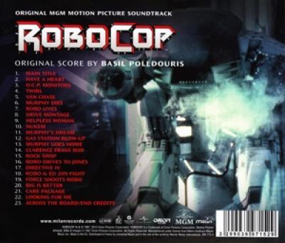 Ost - Robocop (Music By Basil Poledouris)
