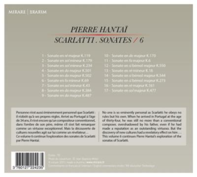 Pierre Hantai - Scarlatti Vol. 6