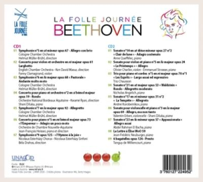 Anne Queffelec - Beethoven Folle Journee 2020 (2CD)