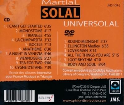 Martial Solal - Universolal (Best Of) CD+DVD