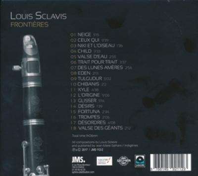 Louis Sclavis - Frontieres CD