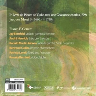 Fuoco E Cenere - Pieces De Viole (1709)