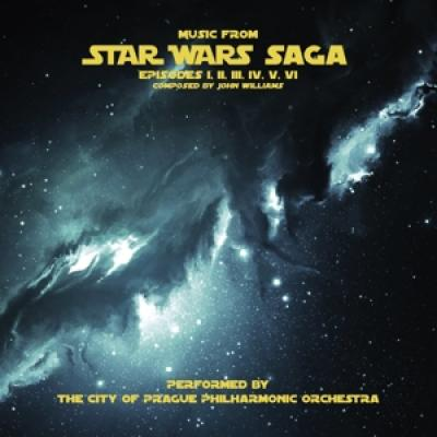 The City Of Prague Philarmonic Orch - Music From Star Wars Saga Episodes (2LP)
