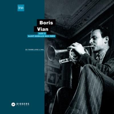 Boris Vian - Jazz A Saint-Germain-Des-Pres (LP)