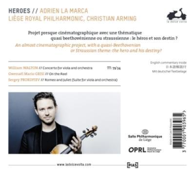 Liege Royal Philharmonic Christian - Walton Grisi & Prokofiev Heroes
