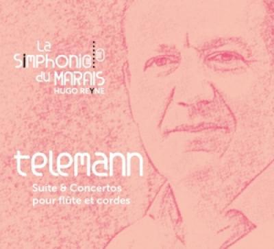 Hugo Reyne La Simphonie Du Marais - Telemann  Concertos & Suite Pour Fl CD