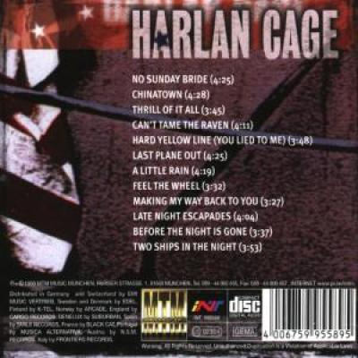 Harlan Cage - Forbidden Colors