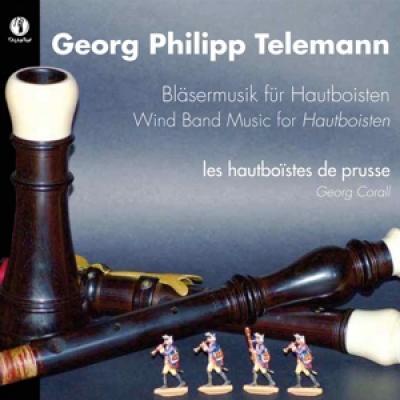 Georg Corall Les Hautboistes De Pru - Blasermusik Fur Hautboisten