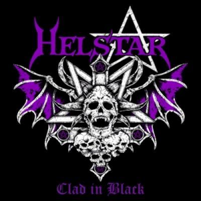 Helstar - Clad In Black (Purple Vinyl) (LP)