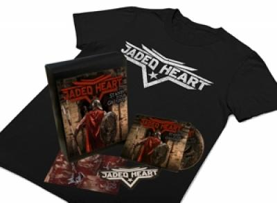 Jaded Heart - Stand Your Ground ( Incl. T-Shirt Size Xl/Autograph Card/Patch) (2CD)