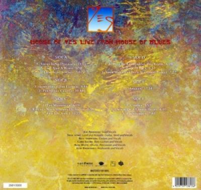 Yes - Live From House Of Blues (5LP)