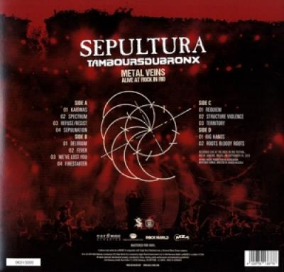 Sepultura With Les Tambours Du Bronx - Metal Vein (Alive  At Rock In Rio) (2LP)