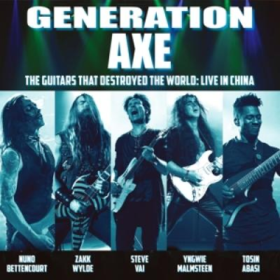 Generation Axe - Guitars That Destroyed The World COLOURED VINYL