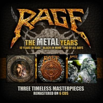 Rage - Metal Years (6CD)