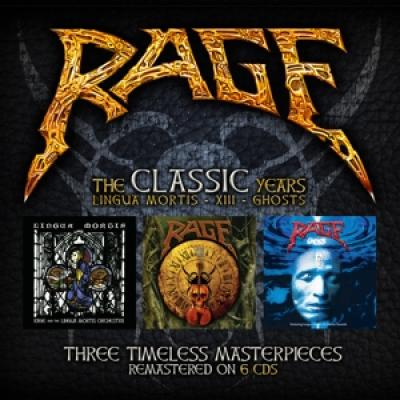 Rage - Lingua Mortis Years (6CD)