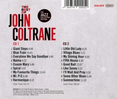 Coltrane, John - Best Of John Coltrane (2CD)