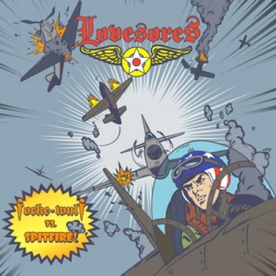 Lovesores - Focke-Wulf Vs. Spitfire (10INCH)