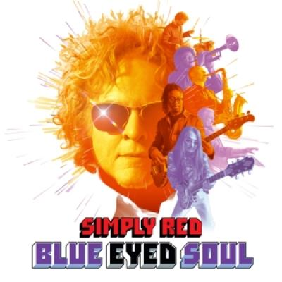 Simply Red - Blue Eyed Soul (LP)
