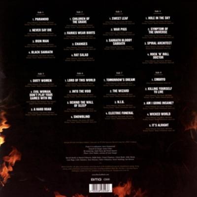 Black Sabbath - Ultimate Collection (Gold Vinyl) (4LP)