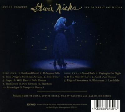 Nicks, Stevie - Live In Concert The 24 Karat Gold Tour (.. Karat Gold Tour) (2CD)