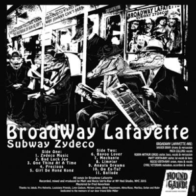 Broadway Lafayette - Subway Zydeco (LP)