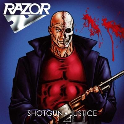 Razor - Shotgun Justice (Transparent Blood Red Vinyl) (LP)