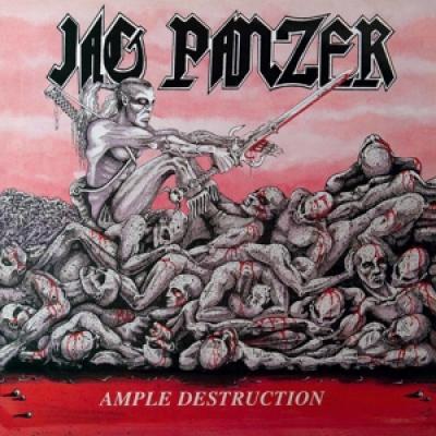 Jag Panzer - Ample Destruction (Red Vinyl) (LP)