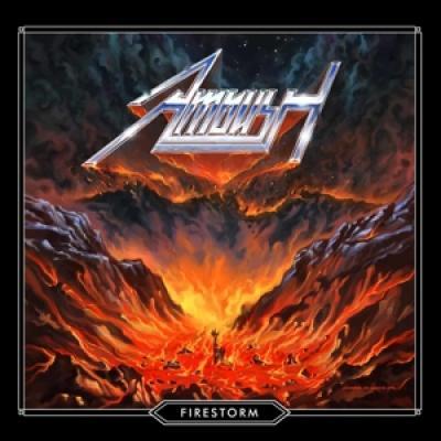 Ambush - Firestorm (Blue Vinyl) (LP)