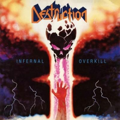 Destruction - Infernal Overkill (Blue Vinyl + 2 Posters + A5 Photo) (LP)