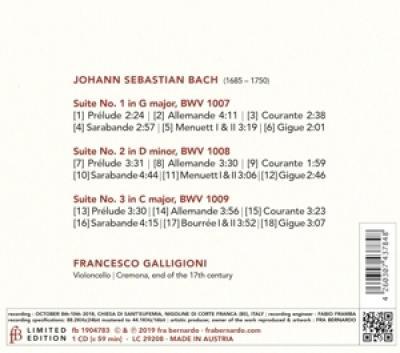 Francesco Galligioni - A Violoncello Senza Basso