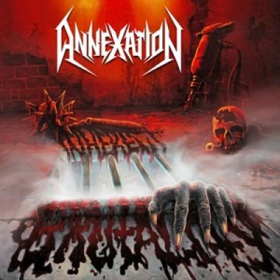 Annexation - Inherent Brutality (Red/Black Splatter Vinyl) (LP)