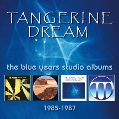 Tangerine Dream - Blue Years Studio Albums 1985-1987 (4Cd Clamshell Boxset) (4CD)